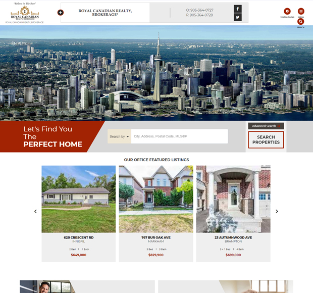 ROYAL CANADIAN REALTY