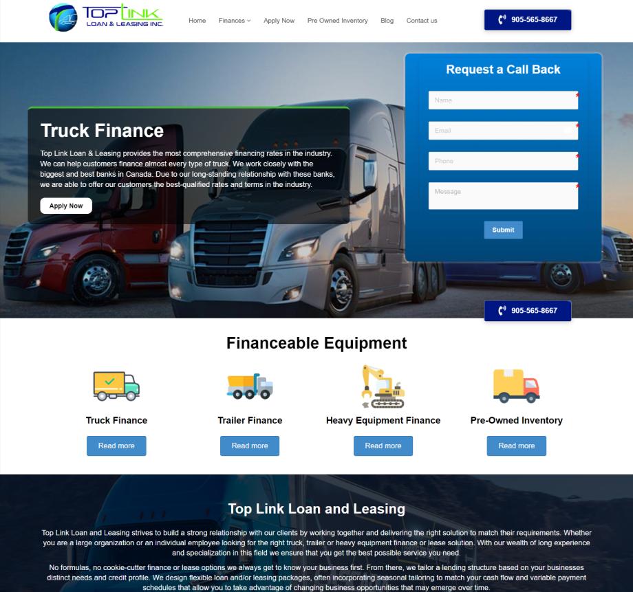 Toplink loan & leasing